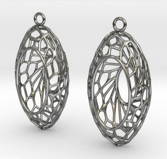 Cairo Basket Earrings